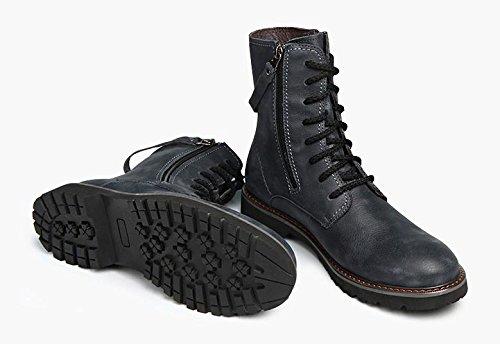 45 45 Caldi Black Stivali con Stivali dal Invernale W amp;XY amp;XY amp;XY da Uomo Temperamento Caldo AfPBq7wx