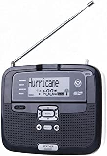 amazon com oregon scientific wr102 portable all hazard radio with rh amazon com Oregon Scientific Clock Manual Oregon Scientific User Manuals