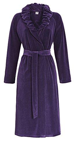 Femme Manteau Violet Ultraviolett Belle Plus La Pour 5483713 HISZwq