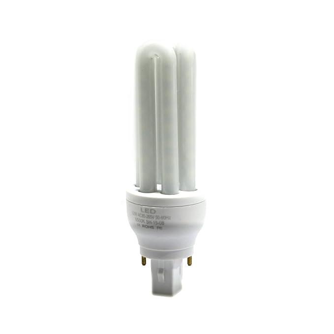 KHEBANG Bombilla led G24 2 Pins 16W Luz color Blanco Fría 6500K: Amazon.es: Iluminación