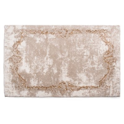 Balad Turkish Cotton Bath Mat (24x72, Ecru)