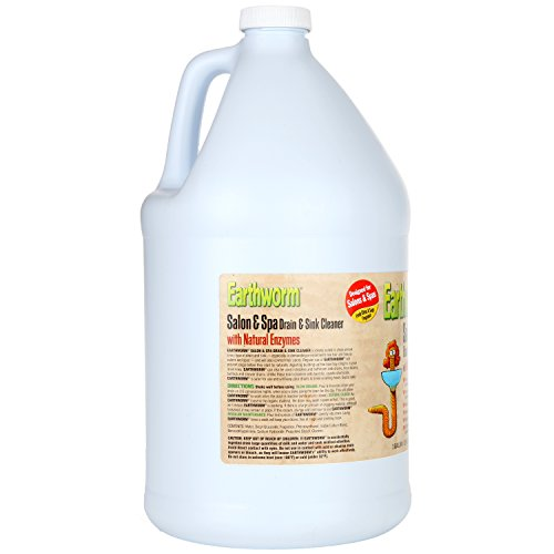 Earthworm Salon & Spa Drain and Sink Cleaner - Drain Opener - Natural Enzymes, Environmentally Responsible, Safer for Pets and Kids - 1 Gallon by Earthworm (Image #2)