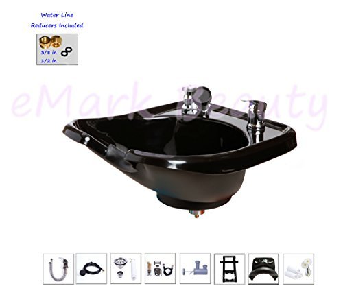 Wall mounted Backwash Shampoo ABS Plastic Bowl Salon Spa ...