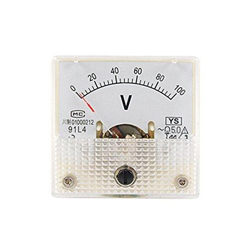Space AC 100 V Analog Panel Volt Meter Mini Voltmeter: