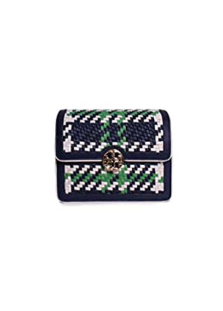 Tory burch duet chain woven micro crossbody in for Tory burch jewelry amazon