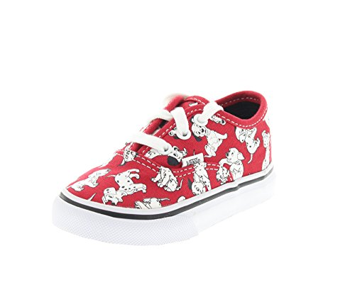 Vans Kids Disney Red Skate Shoe - 7.5 M US Toddler (Dalmatian Costumes For Toddlers)