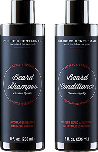 Amazon Com Beard Growth Shampoo And Conditioner Set Best Face