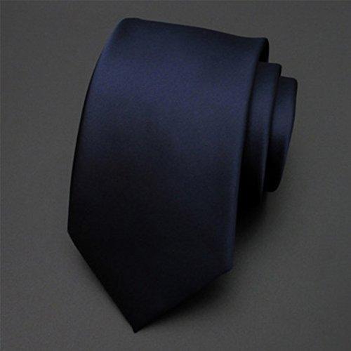 TIE Health UK Corbata Negro poliéster Hombres Vestido Negocio ...