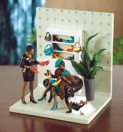 Annie Lee Heel My Sole Figurine