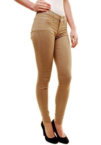 Kenya Super Jeans J Brand Marrone Magro Donna waqgafx4U