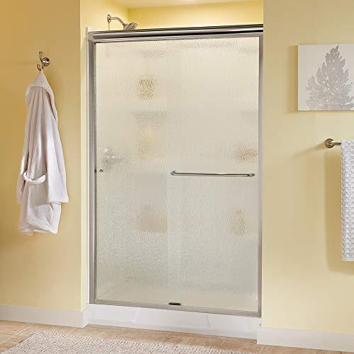Delta Shower Doors SD3956972 Classic Semi-Frameless Traditional Sliding Shower 48