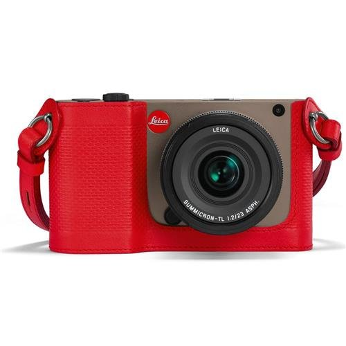 Leica Protector for TL, Leather, Red by Leica