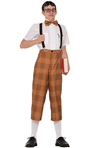 Mr Nerd Men Costume Set - Costume Nerd Pants