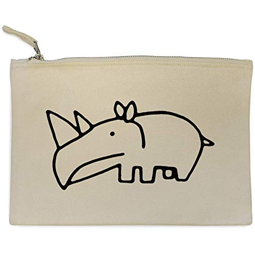 Bolso De 'lindo Embrague Rinoceronte' cl00012164 Accesorios Case Azeeda 7Uwqvq