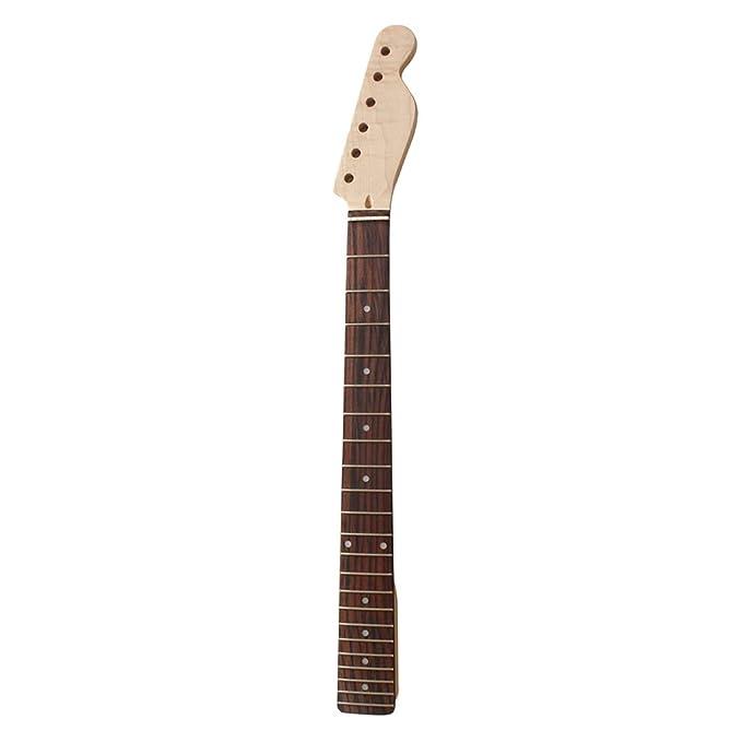 Sharplace Guitarra Eléctrica de Madera 22 Trastes Cuello Diapasón para Reemplazo TL: Amazon.es: Instrumentos musicales