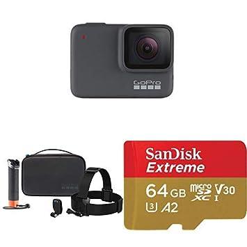 GoPro HERO7 Silver + Adventure Kit + (1) microSD Card