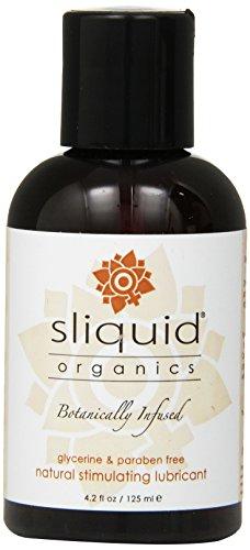 Sliquid, LLC Sliquid Organics, Natural Stimulating Lubricant 4.2 Ounces (Pack of 2)