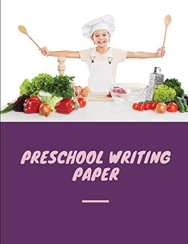 preschool writing paper: Notebook lined large : a notebook for girl/ journals kindergarten/ notebook kindergarten handwriting/notebook composition ... dotted lines/composition journal k-2