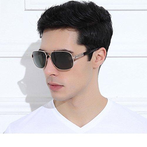 De Hipster Polarizadas A Espejo Color B GAOYANG Gafas Gafas Vendimia Tendencia Ojos Sol Conducción Hombres Sol De Gafas Para Conductor fgv8q