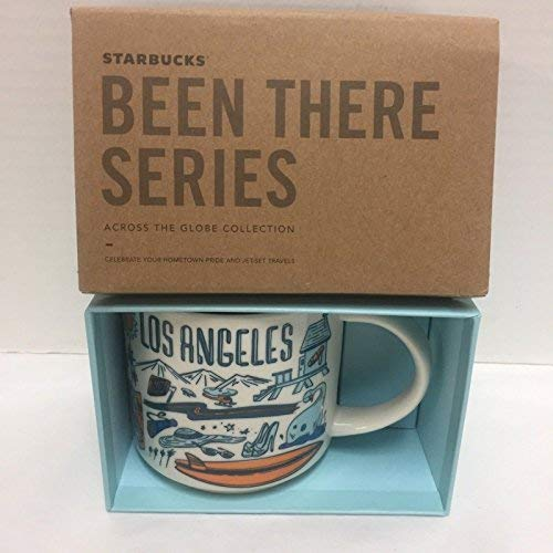 Starbucks Coffee Mug - Been There Series Across The Globe (Los Angeles)