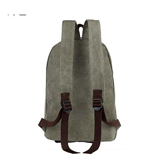 bolso de hombro del viento Colegio Sra./mochila moda casual/Versión coreana de la bolsa de lona-C A