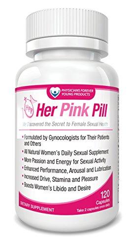 Her Pink Pill - 60 Day Supply - Libido Booster for Women - Women