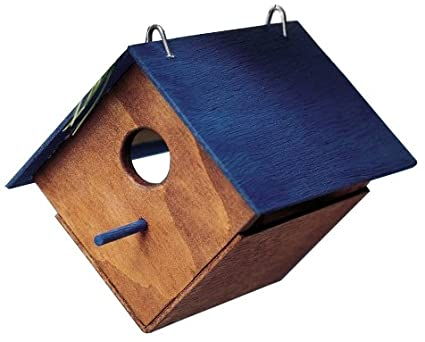 Amazon Com Kids Make Your Own Bird House Unfinished Wood Wooden