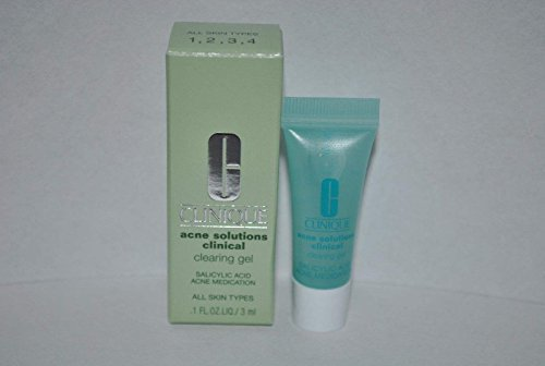 Clinique Acne Solutions Clinical Clearing Gel Sample Mini Size 0.1 Oz / 3 (0.1% Solution)