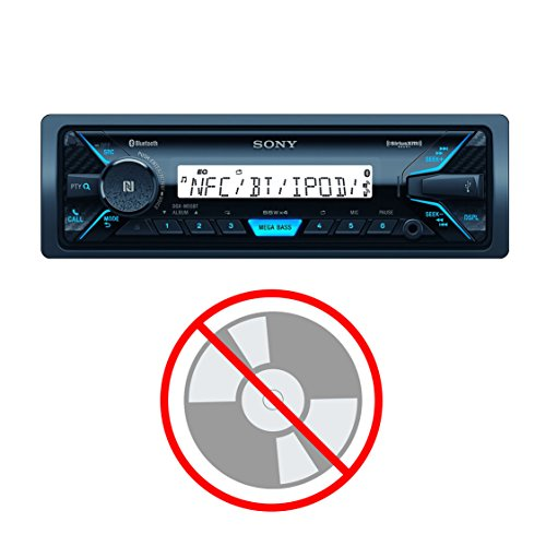 Sony DSXM55BT Marine Digital Media Receiver with Bluetooth and SiriusXM ()