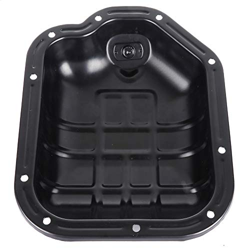 OCPTY Engine Oil Pan Steel Assembly Fits 2000-2009 V6 3.5L Cummins Diesel Infiniti I30 I35 Nissan Altima Maxima Murano Quest Pickup Truck Compatible with - Nissan Maxima Diesel