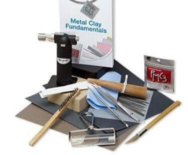 PMC3TM Precious Metal Clay Starter Kit - Includes Micro-Torch by FMG - Clay Starter Kit