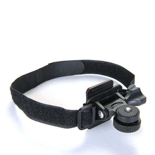 3 opinioni per SODIAL(R) Laccio da Casco per DV Action Camera Microcamera con Supporto