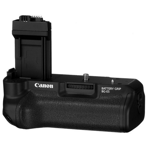 Canon BG-E5 Battery Grip for Select DSLR Cameras (Retail Package) by Canon