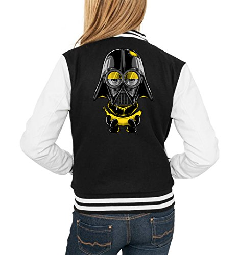 Mini Vader College Vest Girls Black Certified Freak