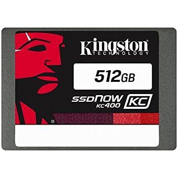 "Kingston Digital 512GB KC400 SSD C2C 2.5"" Solid State Drive (SKC400S37/512G)"