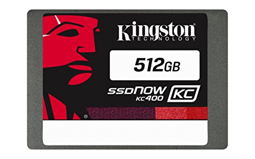 - Kingston 512GB SSDNow KC400 (SKC400S37/512G) 2.5