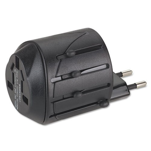 International Travel Plug Adapter for Notebook PC/Cell Phone, 110V, Sold as 1 Each