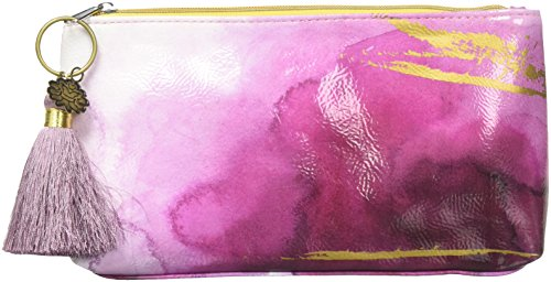 Papaya Art Plum Watercolor Small Tassel Pouch by Papaya Art (Image #1)'