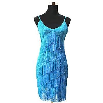 Vestidos de fiesta azul rey con plateado