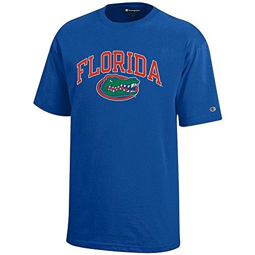 Elite Fan Shop Florida Gators Kids Tshirt Arch Blue - L
