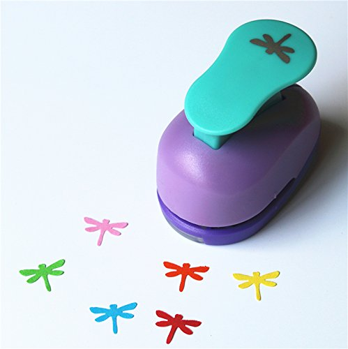 Dragonfly Stencil (CADY Crafts Punch 5/8-Inch paper punches (dragonfly))