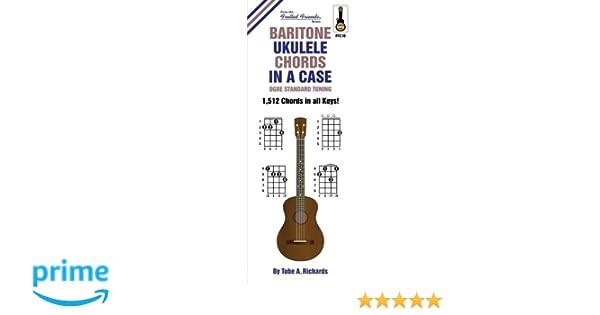 Amazon Baritone Ukulele Chords In A Case Dgbe Standard Tuning