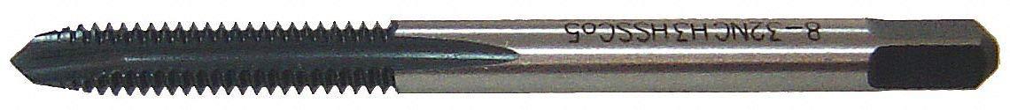Plug 3 Flt Spiral Point Tap S//O 1//4-20