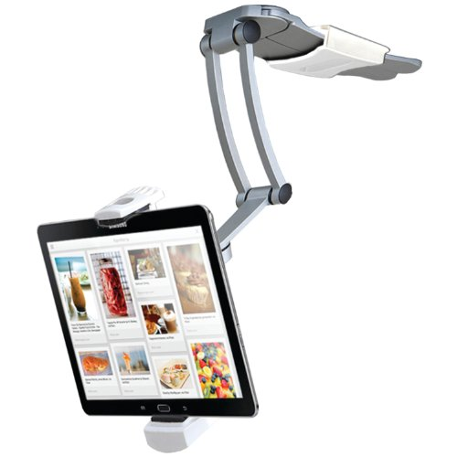 2-in-1 Kitchen Mount Stand for 7-13 Inch Tablets/iPad (2017)/iPad Air/iPad Pro 12.9/Surface Pro/Nintendo Switch