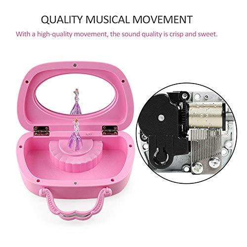 Ballet Girls Dance Music Jewellery Gift Box for Girls Music Box No Battery Required ASOSMOS Keepsake Musical Jewelry Box