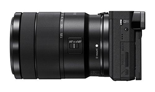 "Sony Alpha a6300 Camera Lens Camera APS-C, Auto Focus with 3"" & 18-135mm -"