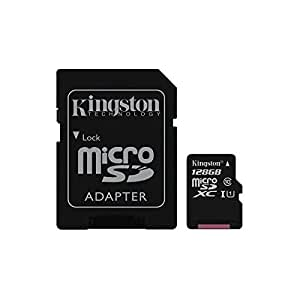 SDC10G2/128GB Memory card Kingston microSDXC 128GB CL10 UHS-I +