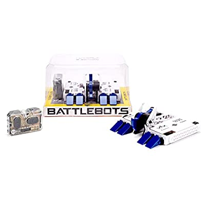 HEXBUG BattleBots Remote Control Bite Force - Electronic RC Robot Toy for Kids - Powered Hex Bug with Batteries Included: Toys & Games