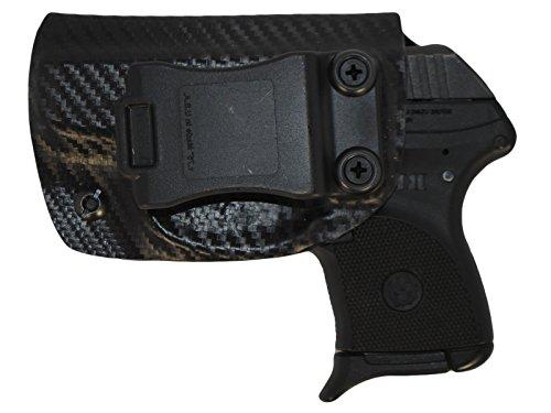 Black Jacket Holster IWB KYDEX Holster: fits Ruger LCP 380 (Carbon Fiber Black - Left ()