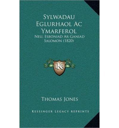 Download Sylwadau Eglurhaol AC Ymarferol: Neu, Esboniad AR Ganiad Salomon (1820) (Hardback)(Spanish) - Common pdf epub